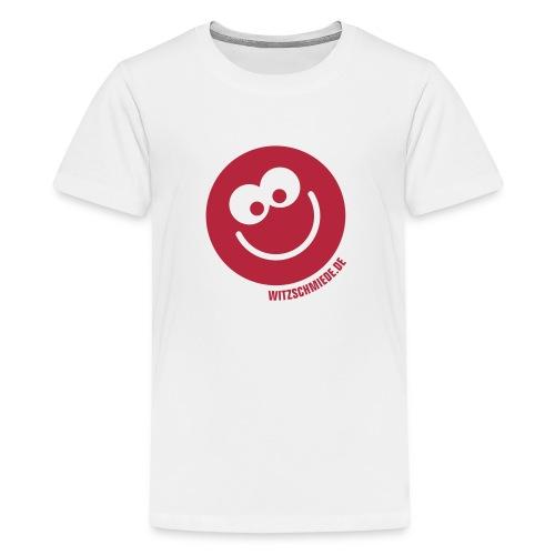 17 1 Witzschmiede Smiley - Teenager Premium T-Shirt