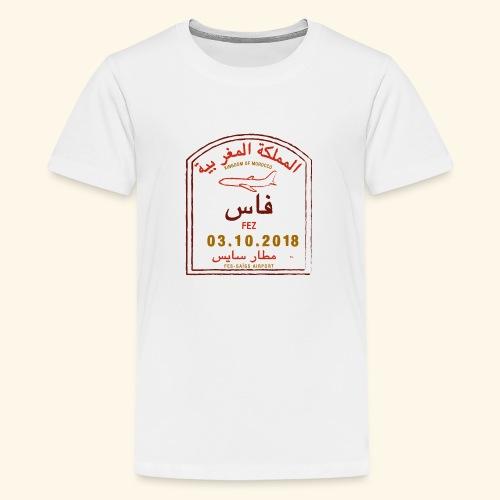aéroport fes saiss - T-shirt Premium Ado