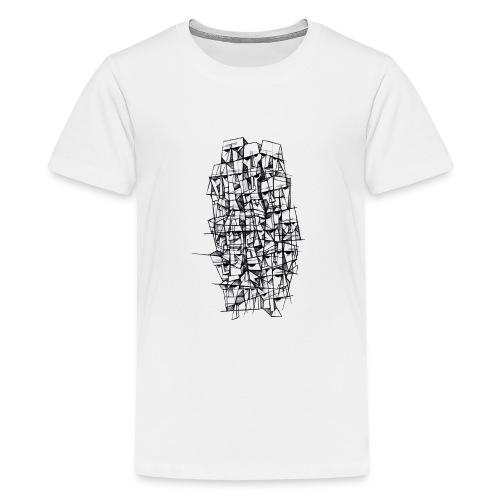 Heads - Teenage Premium T-Shirt