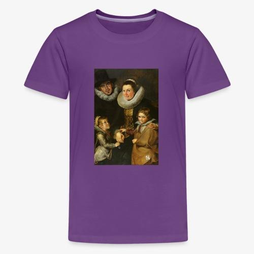 familie-engels2-canvas - Teenager Premium T-shirt