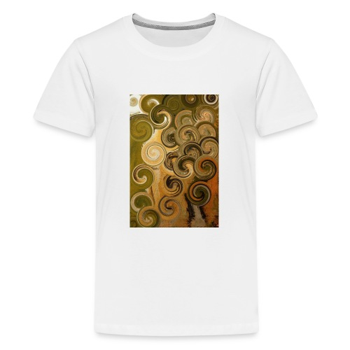 digital Acryl Artwork - Teenager Premium T-Shirt