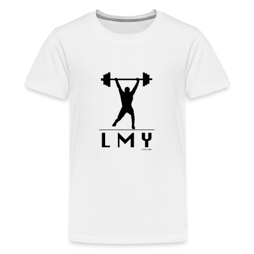 170106 LMY t shirt vorne png - Teenager Premium T-Shirt