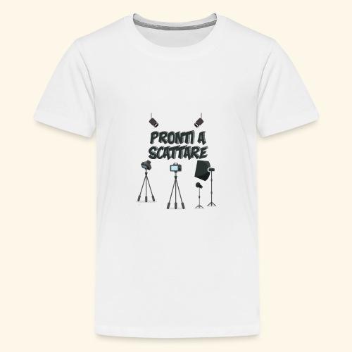 pronti a scattare - Maglietta Premium per ragazzi