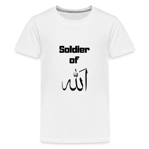 soldier of Allah - Teenage Premium T-Shirt