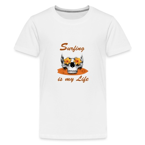 Surfing is my Life - Teenager Premium T-Shirt