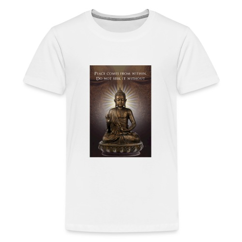 Peace from Within - Teenage Premium T-Shirt