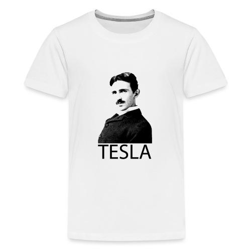 Tesla - T-shirt Premium Ado