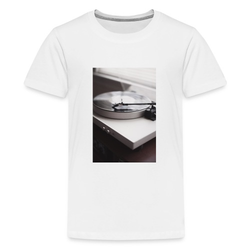 Plattenspieler - Teenager Premium T-Shirt
