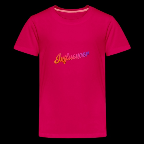 Influencer Instagram Youtube Youtuber - Teenager Premium T-Shirt