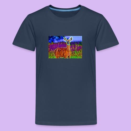Cerbiatto con magici effetti - Maglietta Premium per ragazzi