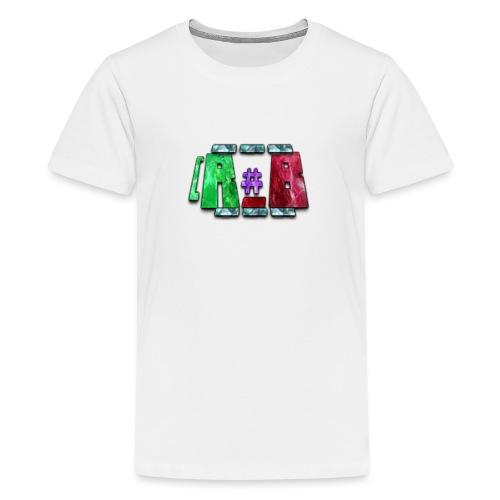 RubyBlaze YT OFFICIAL MERCHANDISE - Premium-T-shirt tonåring
