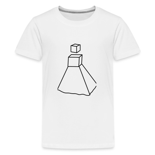 Design Robot Girl - T-shirt Premium Ado