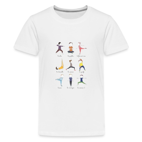 Little yogis - T-shirt Premium Ado