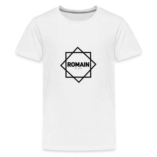 Romains Classic Black & White - Teenage Premium T-Shirt