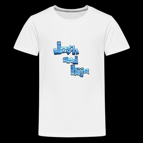 Josh and Ilija - Teenage Premium T-Shirt