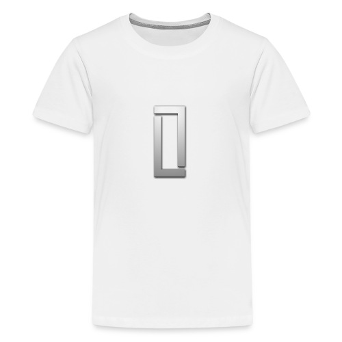 luciano logo clear - Teenager Premium T-shirt