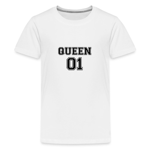 Queen 01 - T-shirt Premium Ado