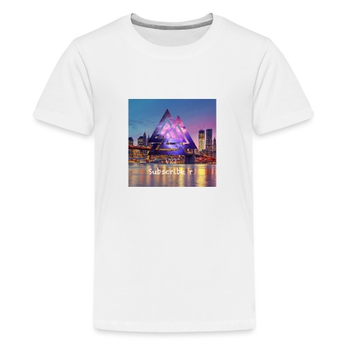 10F9E8E4 EFC0 46A6 A8B1 21E85A91EB34 - Premium-T-shirt tonåring