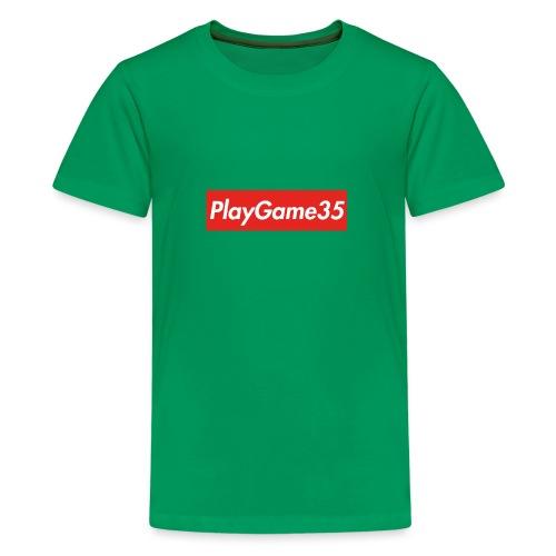 PlayGame35 - Maglietta Premium per ragazzi