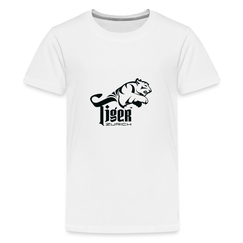 TIGER ZURICH digitaltransfer - Teenager Premium T-Shirt