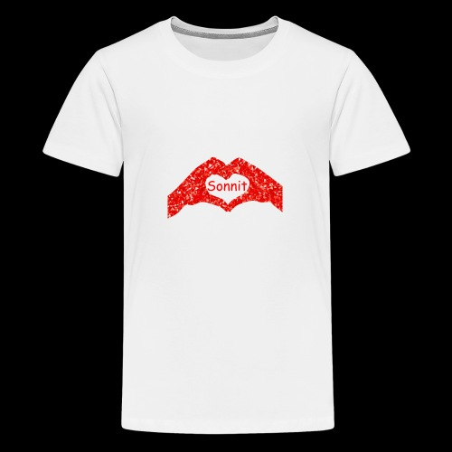 Sonnit Valentines - Teenage Premium T-Shirt