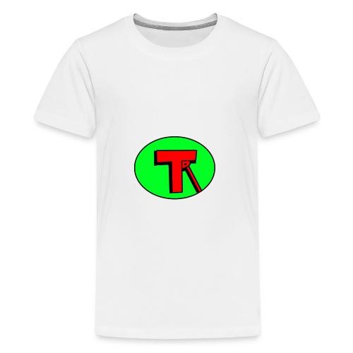tr logo png - Teenage Premium T-Shirt