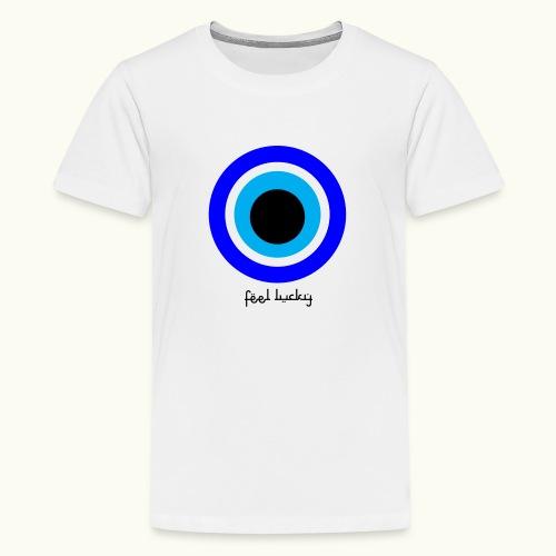 luck eye - Teenager Premium T-shirt