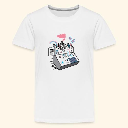 Noise Factory - Teinien premium t-paita