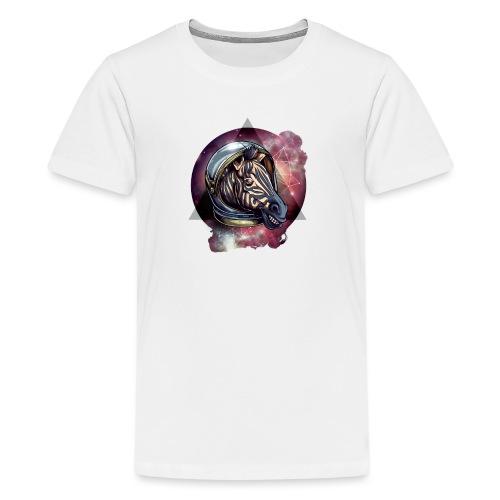 Cosmic zebra - Koszulka młodzieżowa Premium