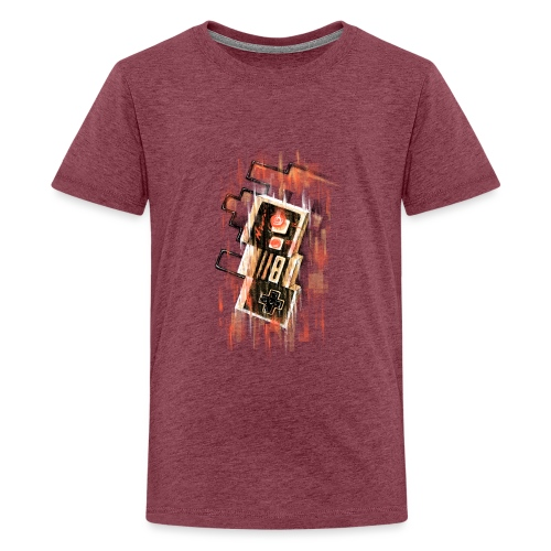 Blurry NES - Teenage Premium T-Shirt