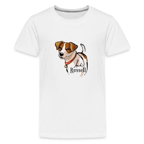 Jack Russell - Teenager Premium T-Shirt