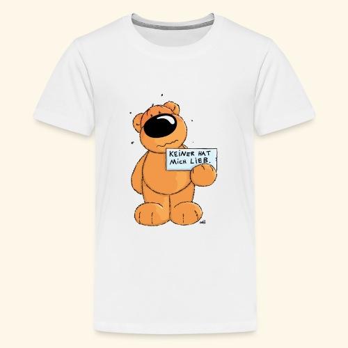 chris bears Keiner hat mich lieb - Teenager Premium T-Shirt