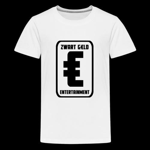 ZwartGeld Logo Sweater - Teenager Premium T-shirt