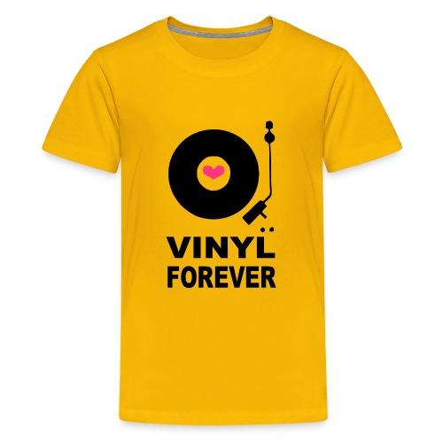 Vinyl Forever T-shirt - Teenage Premium T-Shirt