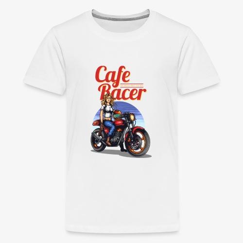 Cafe Racer - T-shirt Premium Ado
