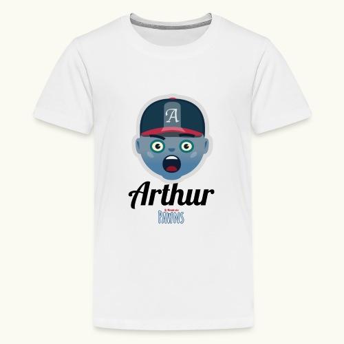 Arthur (Le monde des Pawns) - T-shirt Premium Ado