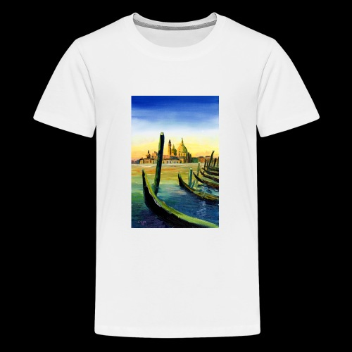 Venedig Sonnenuntergang. San Giorgio - Teenager Premium T-Shirt