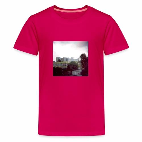 Original Artist design * Blocks - Teenage Premium T-Shirt