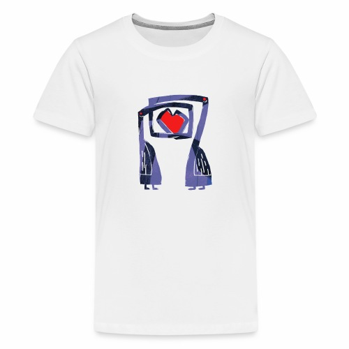 Love birds - Teenager Premium T-shirt