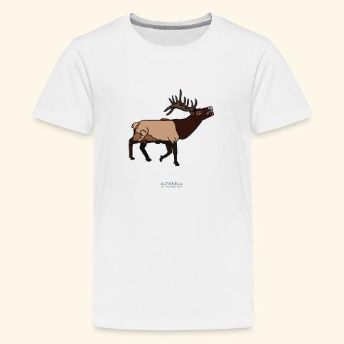 Elk - Maglietta Premium per ragazzi