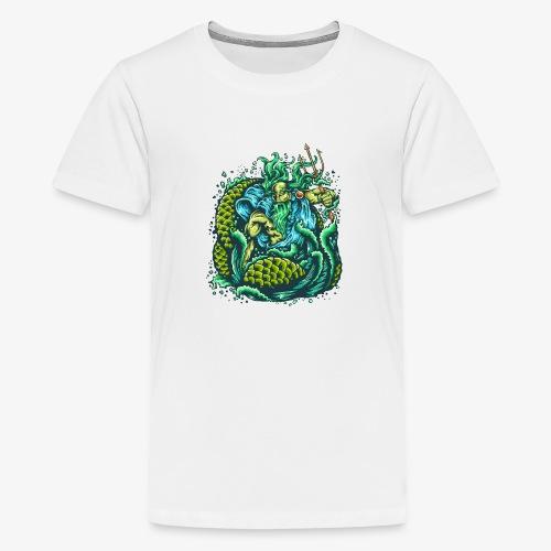Dieu de la mer - T-shirt Premium Ado