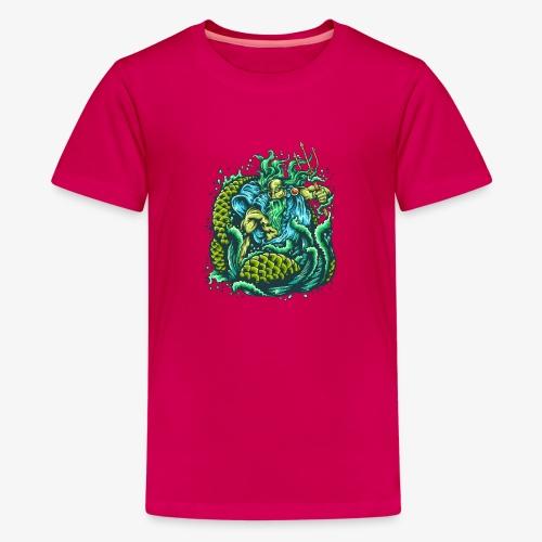 Gott des Meeres - Teenager Premium T-Shirt