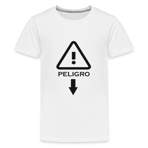 Peligro - Camiseta premium adolescente