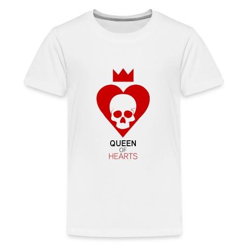 Tee shirt manches longues Reine des Coeurs - T-shirt Premium Ado