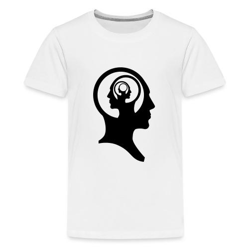 recursiv brain - T-shirt Premium Ado
