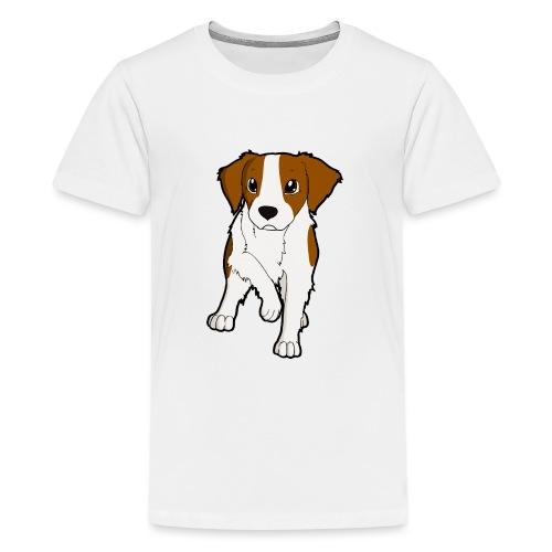 Breton bianco rosso - Maglietta Premium per ragazzi