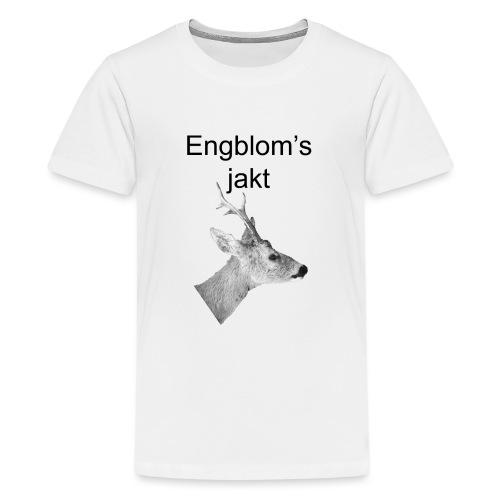 Officiell logo by Engbloms jakt - Premium-T-shirt tonåring
