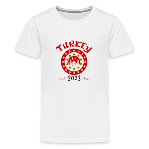 Tuerkei 2023 cp - Teenager Premium T-Shirt