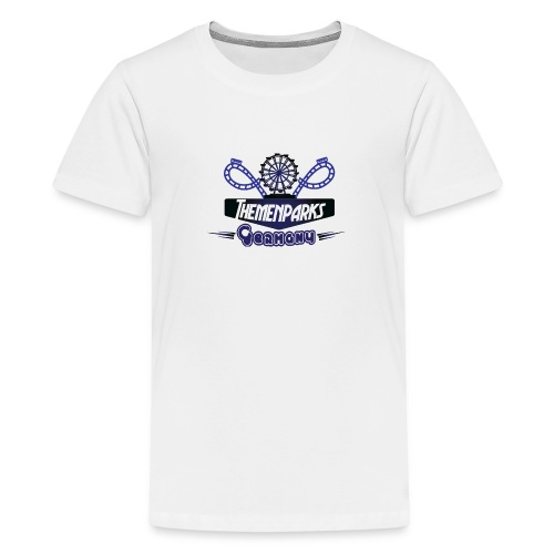 Themenparks Germany Logo - Teenager Premium T-Shirt