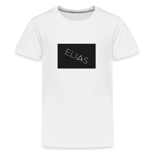 eliasenmusic - Premium T-skjorte for tenåringer